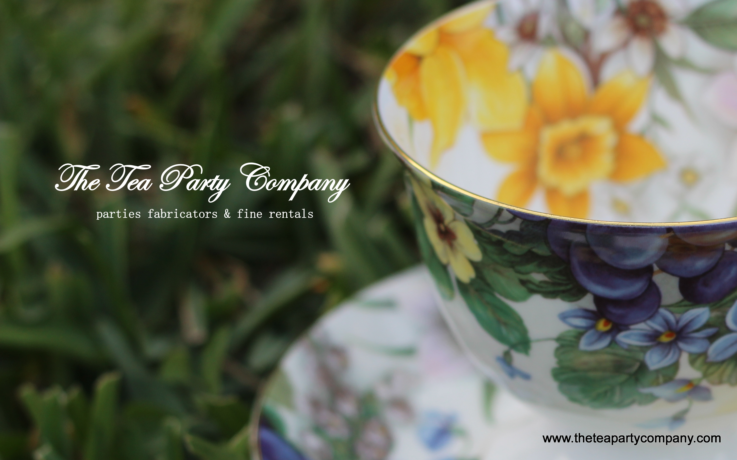 Floral Matching Tea Cup & Saucer The Tea Party Company (18)