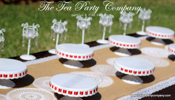 White Ceramic Cake Stands