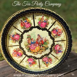 Vintage Tin Trays 1 The Tea Party Compan