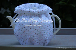 White Tiny Flowers Cozy Collection The T