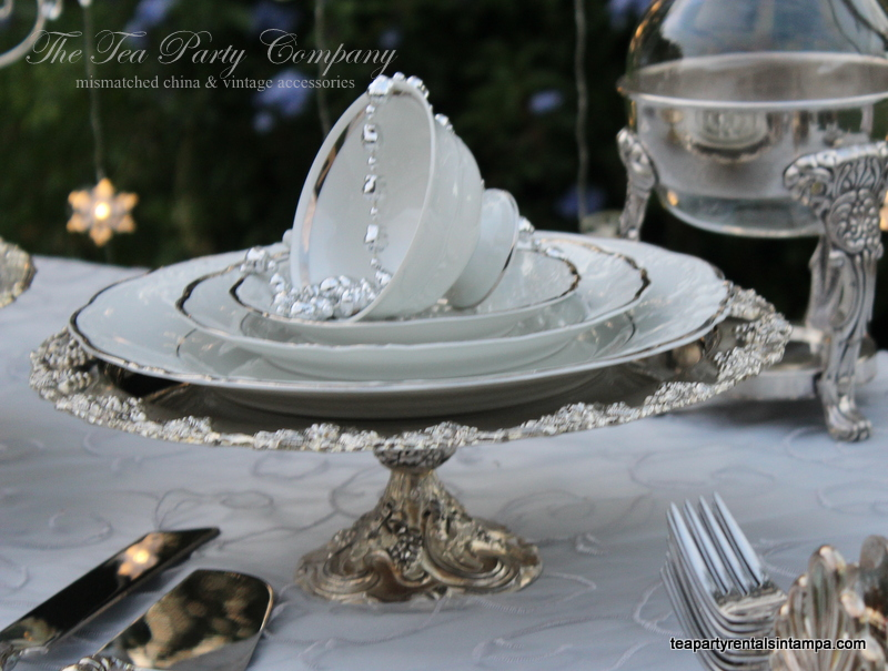 Silverplated Cake Stands