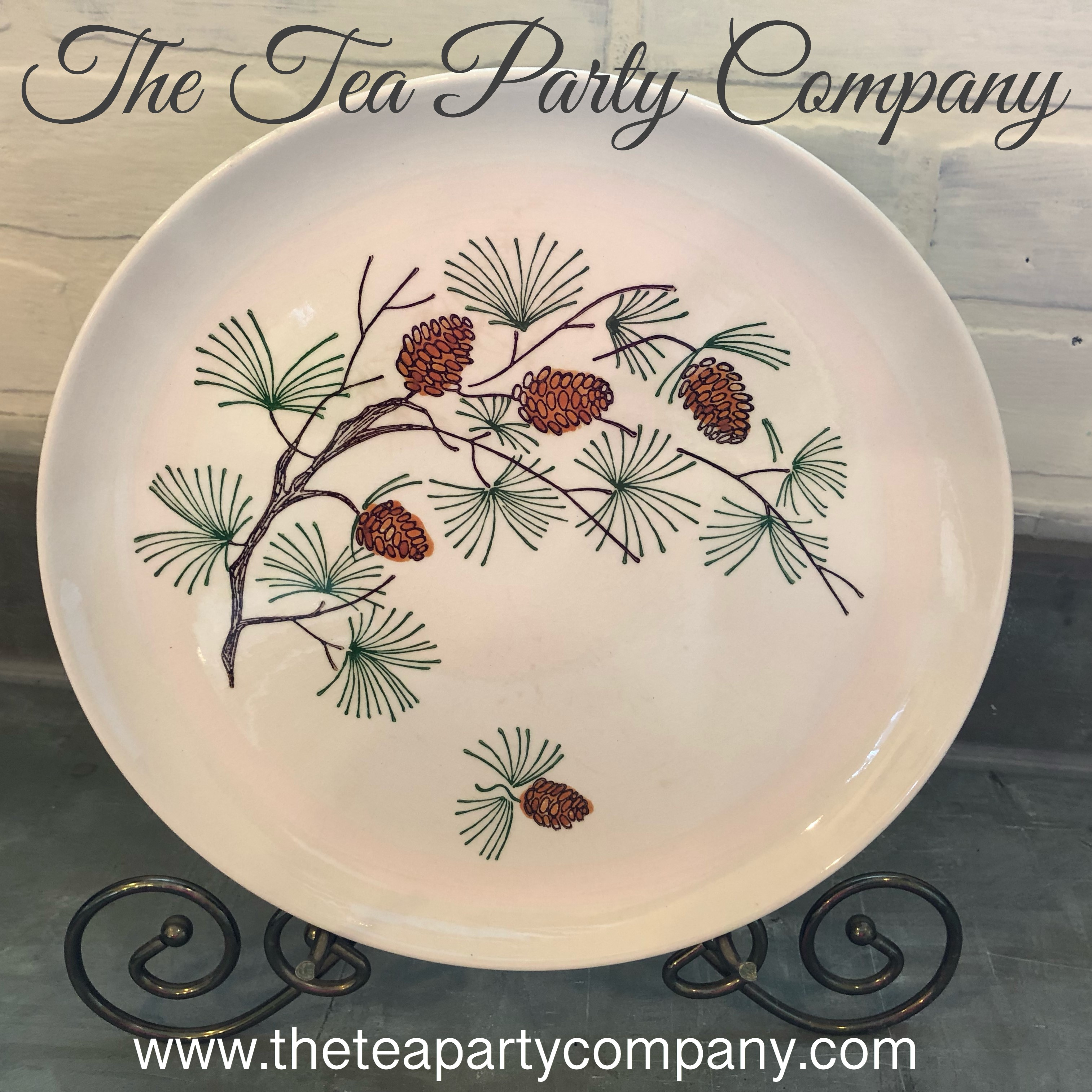 vintage dinner  plate collection 2 The T