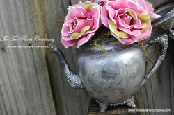 The Tea Party Company Silver Teapots Collection