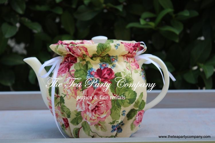 Yellow Floral Cozy The Tea Party Company