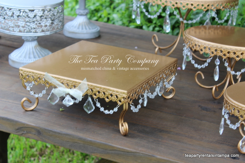 Metal Cake & Cupcake Stands The Tea Party Company (5)