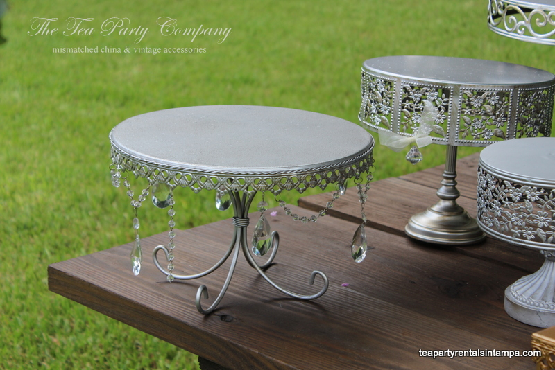Metal Cake & Cupcake Stands The Tea Party Company (4)