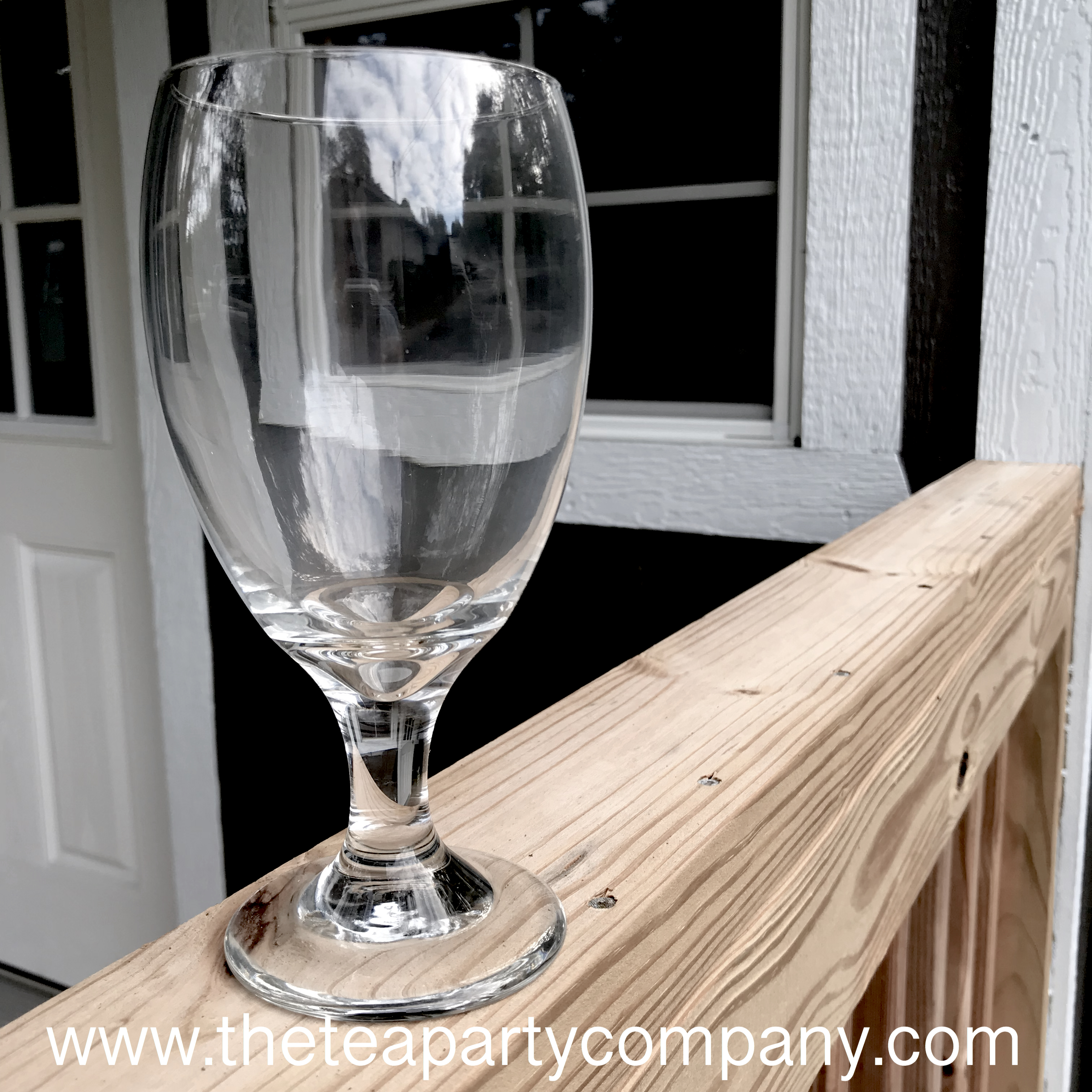 Basic Clear Glassware  The Tea Party Com