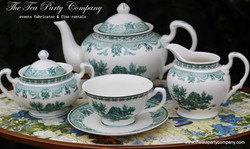 Matching Tea Sets Toile Collection The T