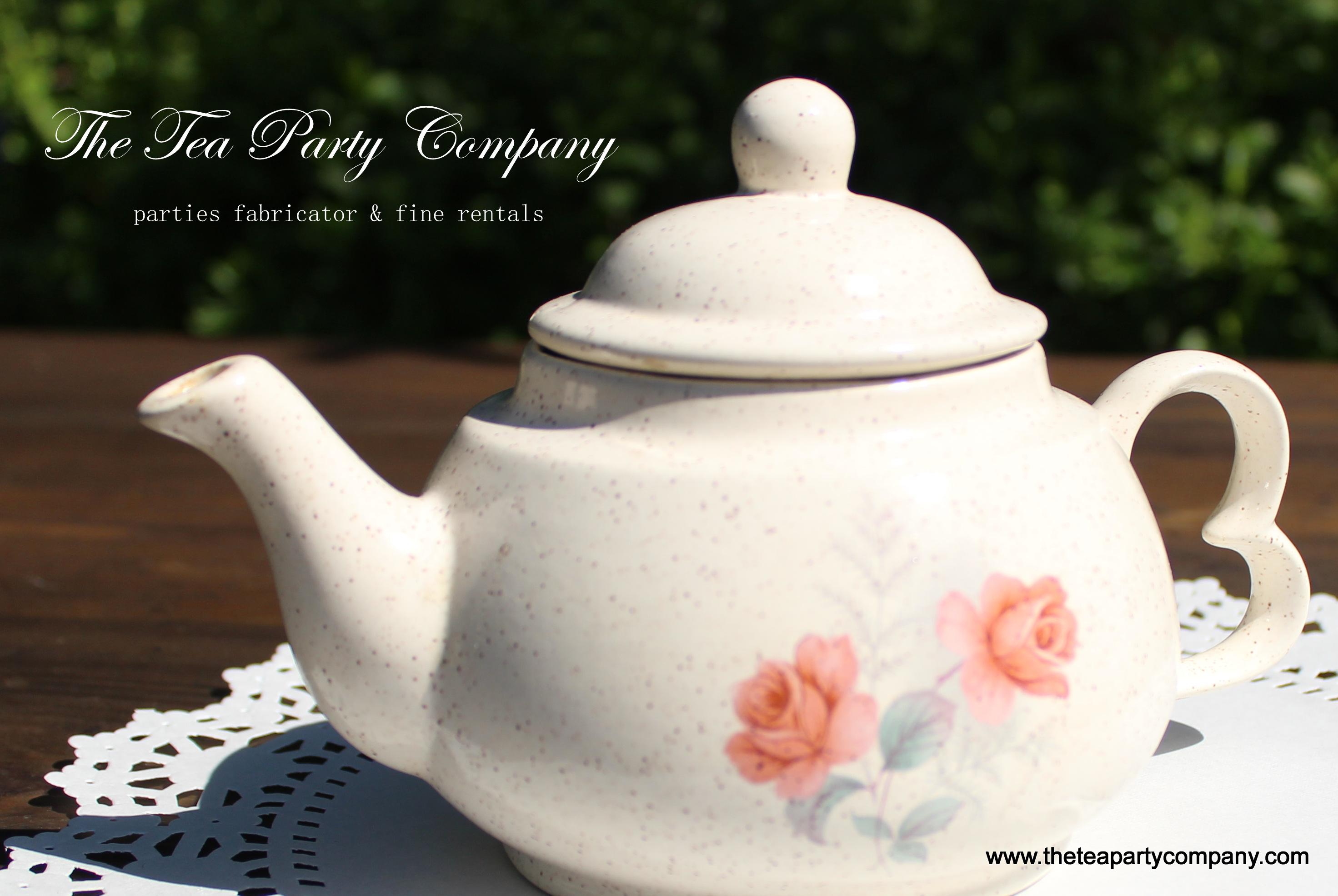mismatch tea pots collection The Tea Pa