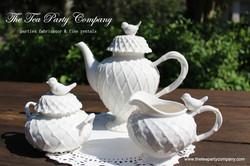 White Tea Sets Collection The Tea Party