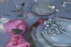 Princess Party. crown napking holder The