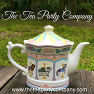 carousel  prop tea pot The Tea Party Company