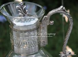 Silverware Water Caraffe The Tea Party Company