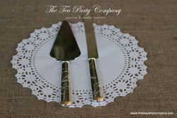 Martha Stewart Collection Cake Knife _ Server Set The Tea party Company
