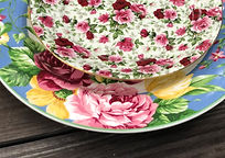 Floral Shaby Chic Style Dinner Plate Sal