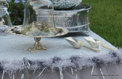 Silverware Cake Stand The Tea Party Company