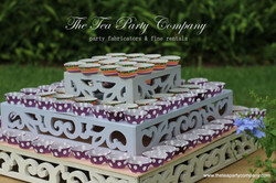 Cake Stand Scroll Design The Tea Party Company