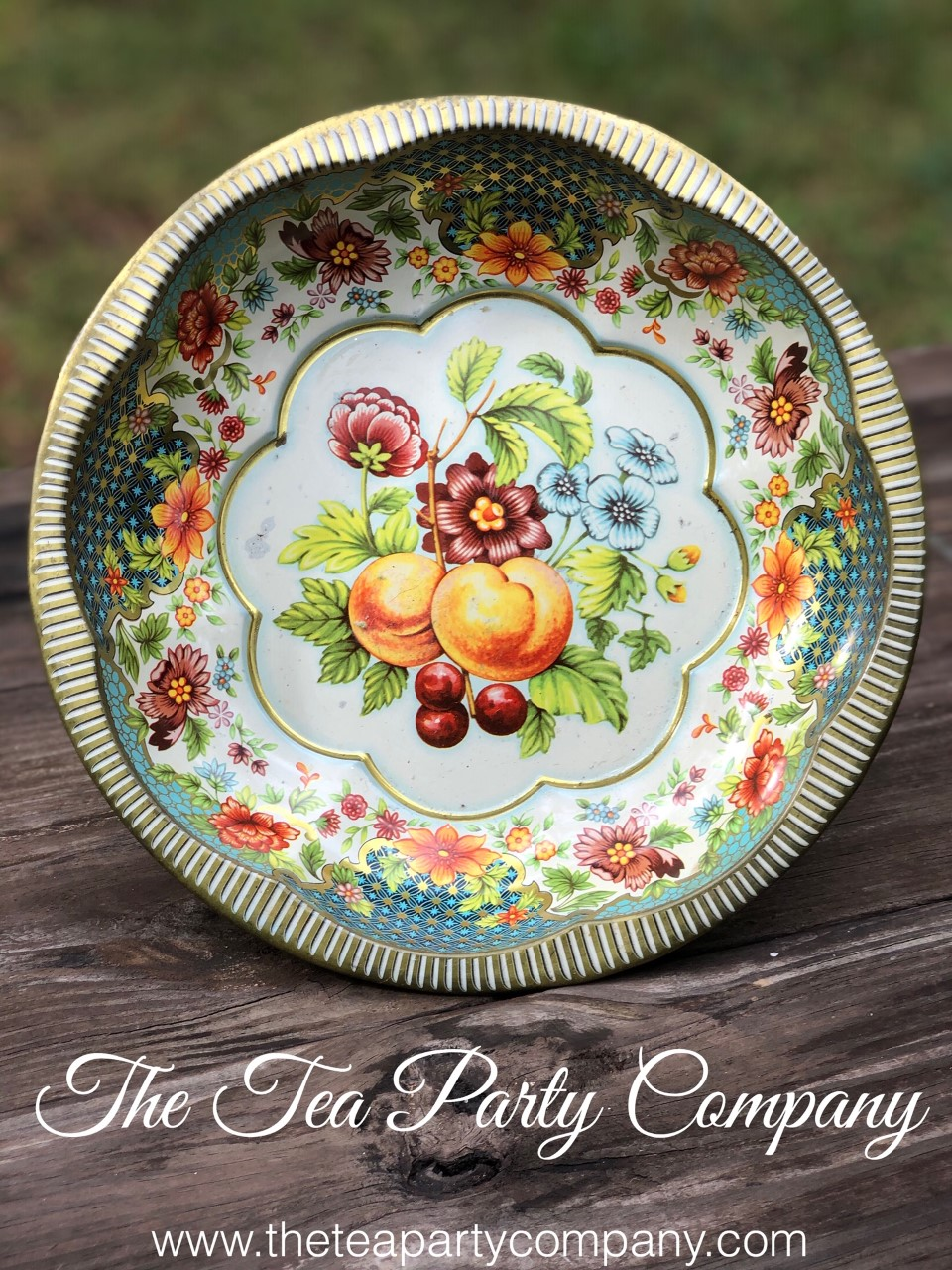 Vintage Tin Trays 3 The Tea Party Compan