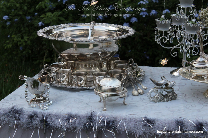 Punch Bowl Silverplated