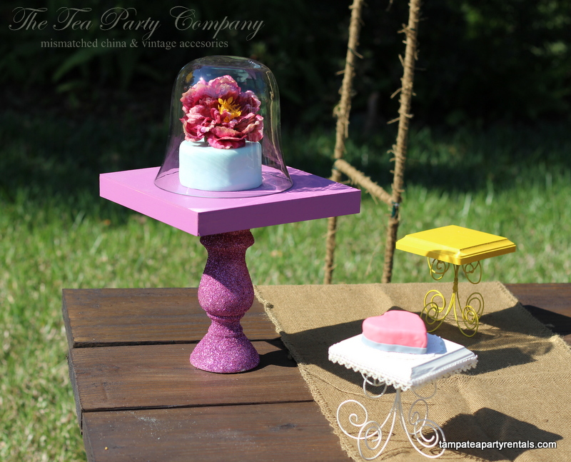 Wood Cake stands The Tea Party Compa