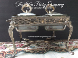Vintage Chafing armer Dish Collection The Tea Party Company