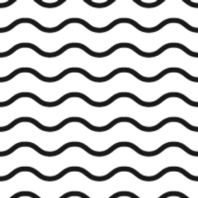 Wave Pattern Black