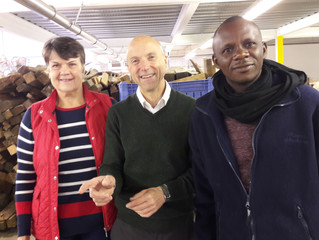 Visit of Ephaste Niyigena