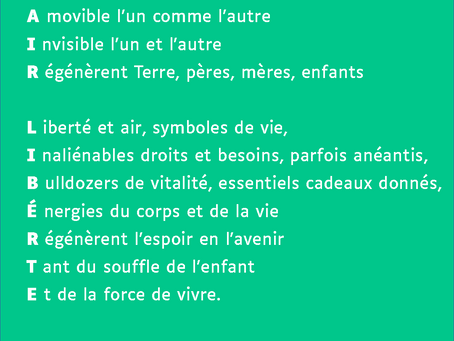 Semaine Langue Française, jour 7