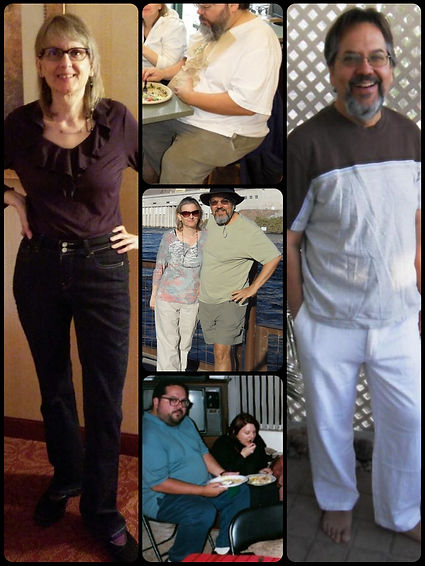 Betty.Dan.couple.WeightLoss. BEFORE-AFTE