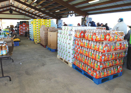 WOW Mobile Pantry provides more than 50,000 pounds of free food
