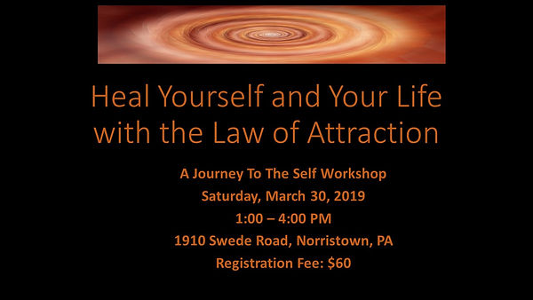 Heal Yourself and Your Life with the Law