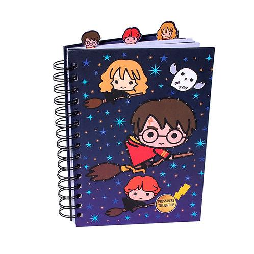 LED Light Up Notebook - Wiro- Harry Potter