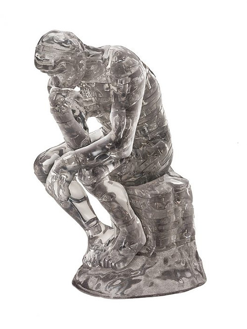 Crystal Puzzle The Thinker