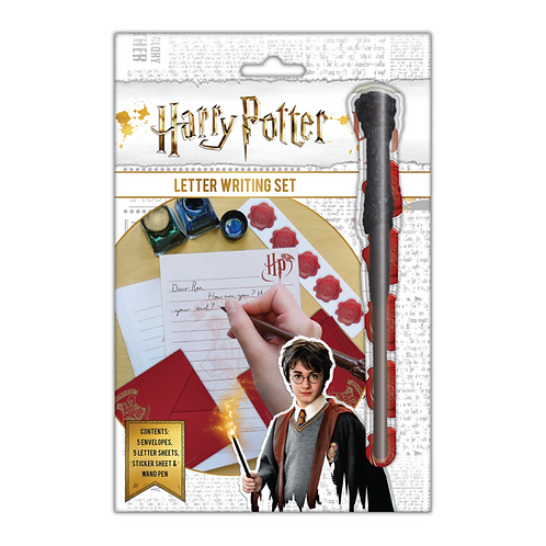 Letter Writing Set- Harry Potter