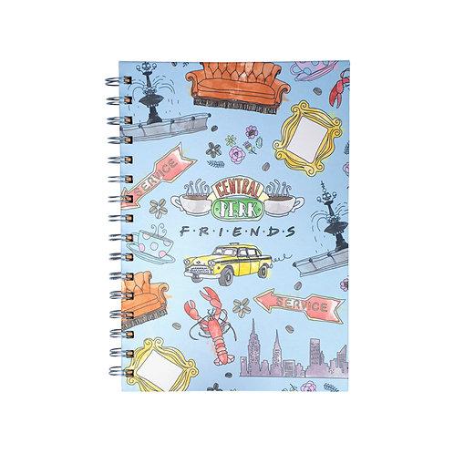 Friends A5 Wiro Notebook