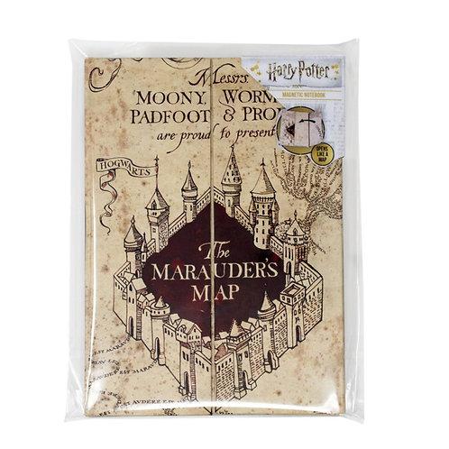 Marauders Map A5 Notebook- Harry Potter
