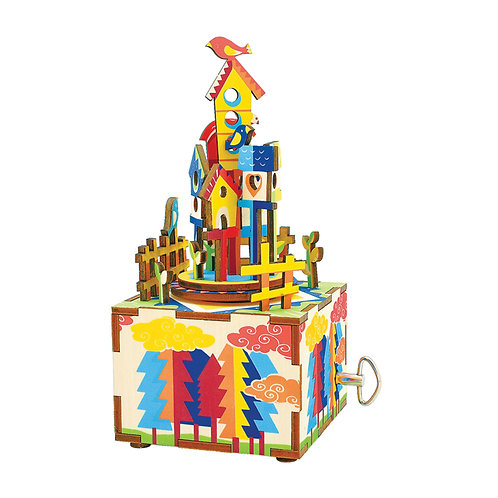 Music Box Castle in the sky