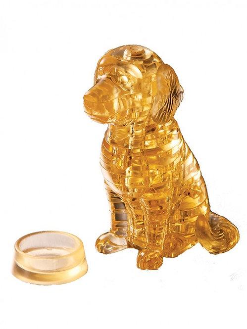 Crystal Puzzle Golden Retreiver