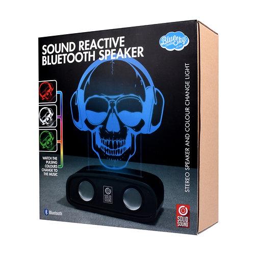 Sound Reactive Bluetooth Speaker Skull