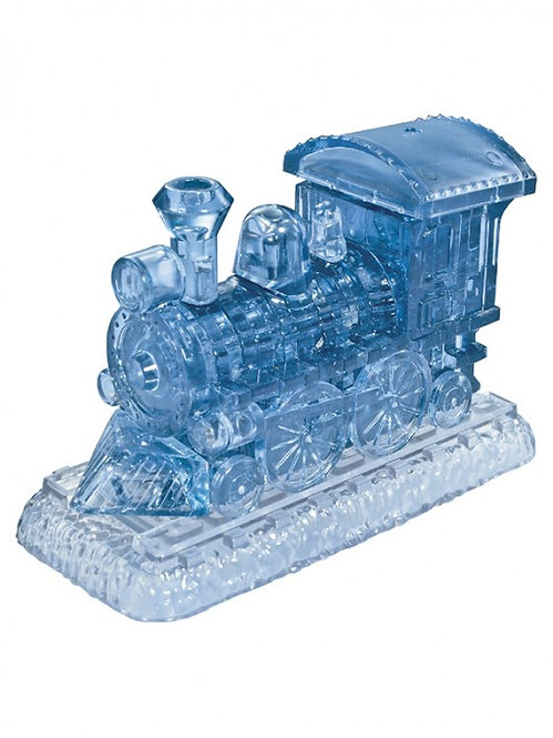 Crystal Puzzle SL Train Blue