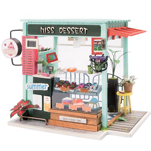 DIY Miniature House Ice Cream Station