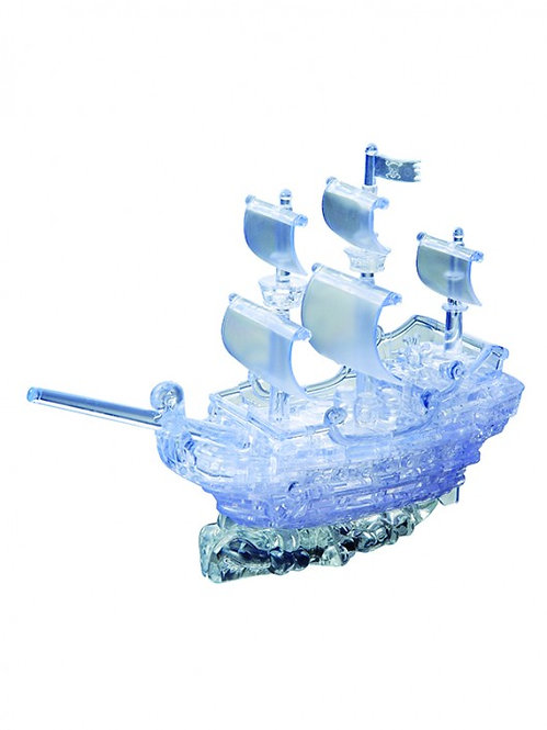 Crystal Puzzle Pirate Ship UVC