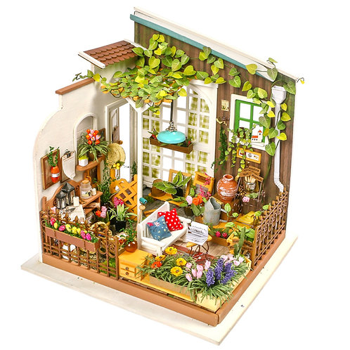DIY Miniature House Miller's Garden