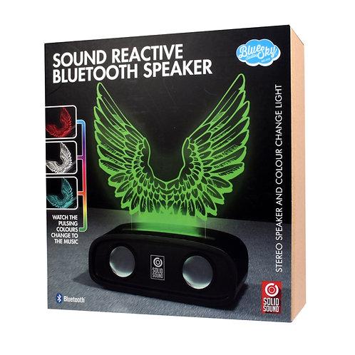 Sound Reactive Bluetooth Speaker - Wings