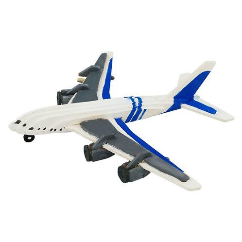 Painting 3D Wooden Puzzle Civil Plane