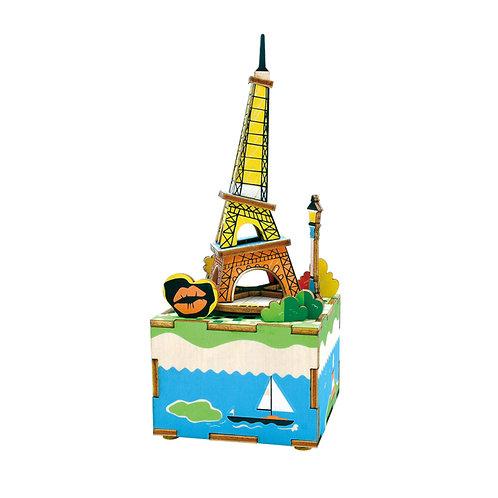 Music Box Romantic Eiffel
