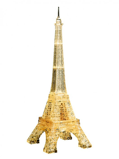 Crystal Puzzle Eiffel Tower Golden