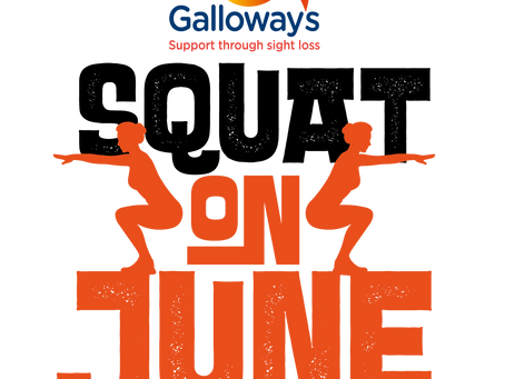 Get involved in the Galloway's Squat on June challenge!