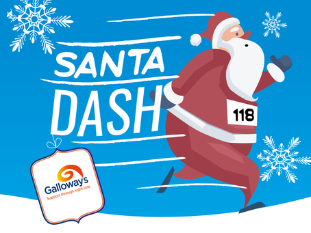Sign up for the Galloway's Santa Dash