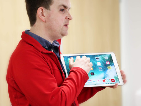 Galloway's launches pilot to encourage more visually impaired people to use assistive technology